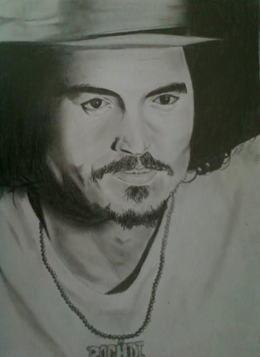 Johnny Depp par Keroo